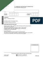 University of Cambridge International Examinations General Certificate of Education Ordinary