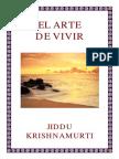 El Arte de Vivir - Jiddu Krishnamurti.pdf