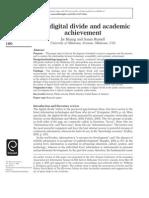 AMY MUNIRA HAZAMAN - 2007113953/The Digital Divide and Academic Achievement