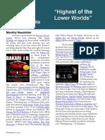 Rapture Newsletter 11.14