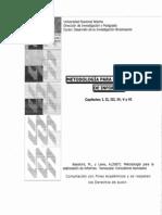 Balestrini, M., y Lares, A.(2007). Metodología para la elaboración de informes