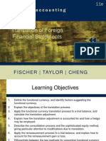 Chapter 11 - Translation of Foreign Financial Statements PPT Slides