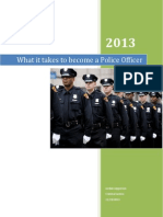 what it takes to become a police officer