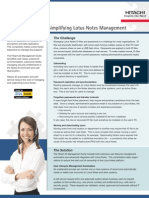 Simplifying Lotus Notes Id and Password Management
