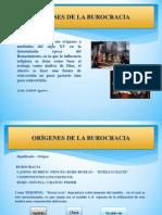 CONCEPTO DE BUROCRACIA SEGÚN WEBER
