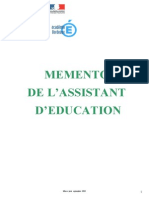 Memento Assist Educ 2
