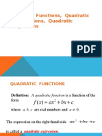 QuadraticFunctions