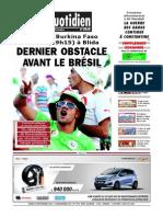 Le Quotidien d Oran Du 19.11.2013