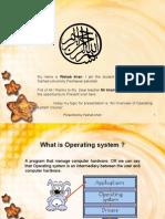 Operating System Presentation