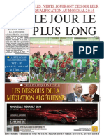 Le Soir d Algerie Du 19.11.2013
