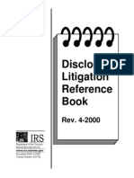 IRS Disclosure, Litigation Reference Book Rev. 4-2000