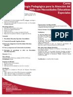Metodologia Pedagogica Para La Atencion Del Nino Con Necesidades Educativas Especiales