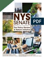 2013 Preliminary Tax Report FINAL