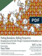2014 SPAS Grad Conference Flyer