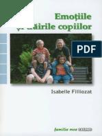 Emoţiile şi trăirile copiilor, Isabelle Filliozat