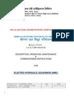 O & M Manual for Governor HMC (1)