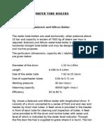 11.Water Tube Boilers