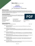Barry Hare Resume - LinkedIn