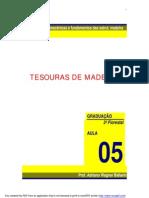 Tesouras de Madeira