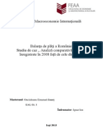Proiect Economie Internationala Onciuleanu Emanuel Feaa Master EAI 1 => Ignat