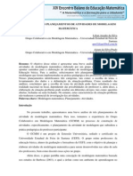 XIV EBEM_ Uma análise dos planejamentos de atividades de modelagem matemática