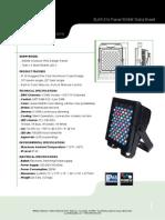 ELAR 216 Panel RGBW Cutsheet