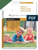 Educar a niños y niñas de 0 a 6 años