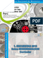 Modernizacion Curricular de Las Universidades-ANR