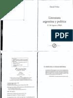 Viñas, David - Literatura argentina y política - De Lugones a Walsh