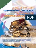 NIC 29 de IASB, Información Financiera en Economías Hiperinflacionarias