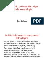 I Concetti Di Coscienza Alle Origini Della Fenomenologia