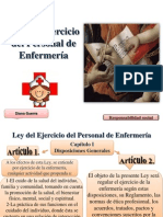 Ley Del Ejercicio Del Personal de Enfermera