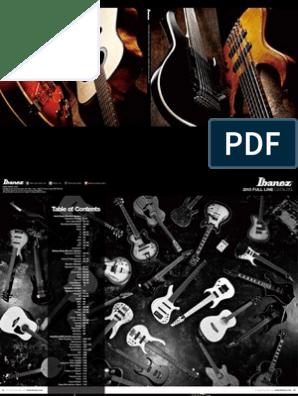 Ibanez 2013 Catalog | Guitars | Guitar Family Instruments on