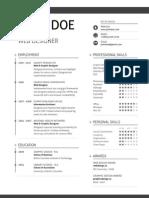 PDF Aller LETTER Swissresume Black