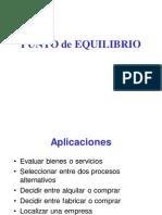 Diapositivas_Punto de Equilibrio