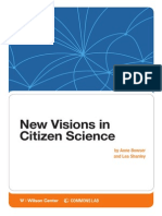 New Visions in Citizen Science