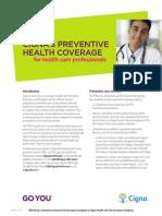 Cigna Preventive Health Coverage Guide