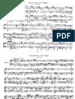 Bach Brandenburgisches Konzert #3, piano 4 hands