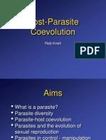 Host Parasite Coevolution