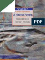 Las Relaciones Humanas Psicologia Social Teorica Y Aplicada