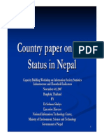Country paper on ICT