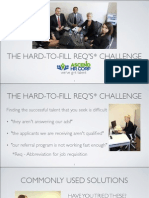The hard-to-fill req's challenge and how to fix it - you have options