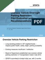11-19-13 Item 17 Oversized Vehicle Presentation