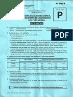 ConcursoEscolarNacional (UNI) 2014-I