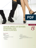 Geographies of Gender - Feminism and Masculinities