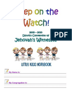 Toddlers Notebook - Keep on the Watch