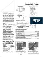 CD4016B Quad Bilateral Switch