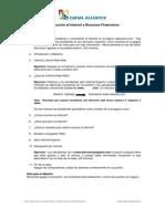 Internet y Recursos Financieros Guidelines