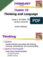 10 Thinking and Language
