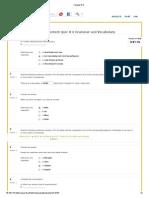 Act.13 - Content Quiz # 6 Grammar and Vocabulary